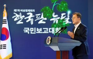 South Korea New Deal eco-diplomacy